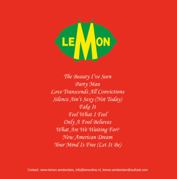 Tracklist The Fifth Of Lemon