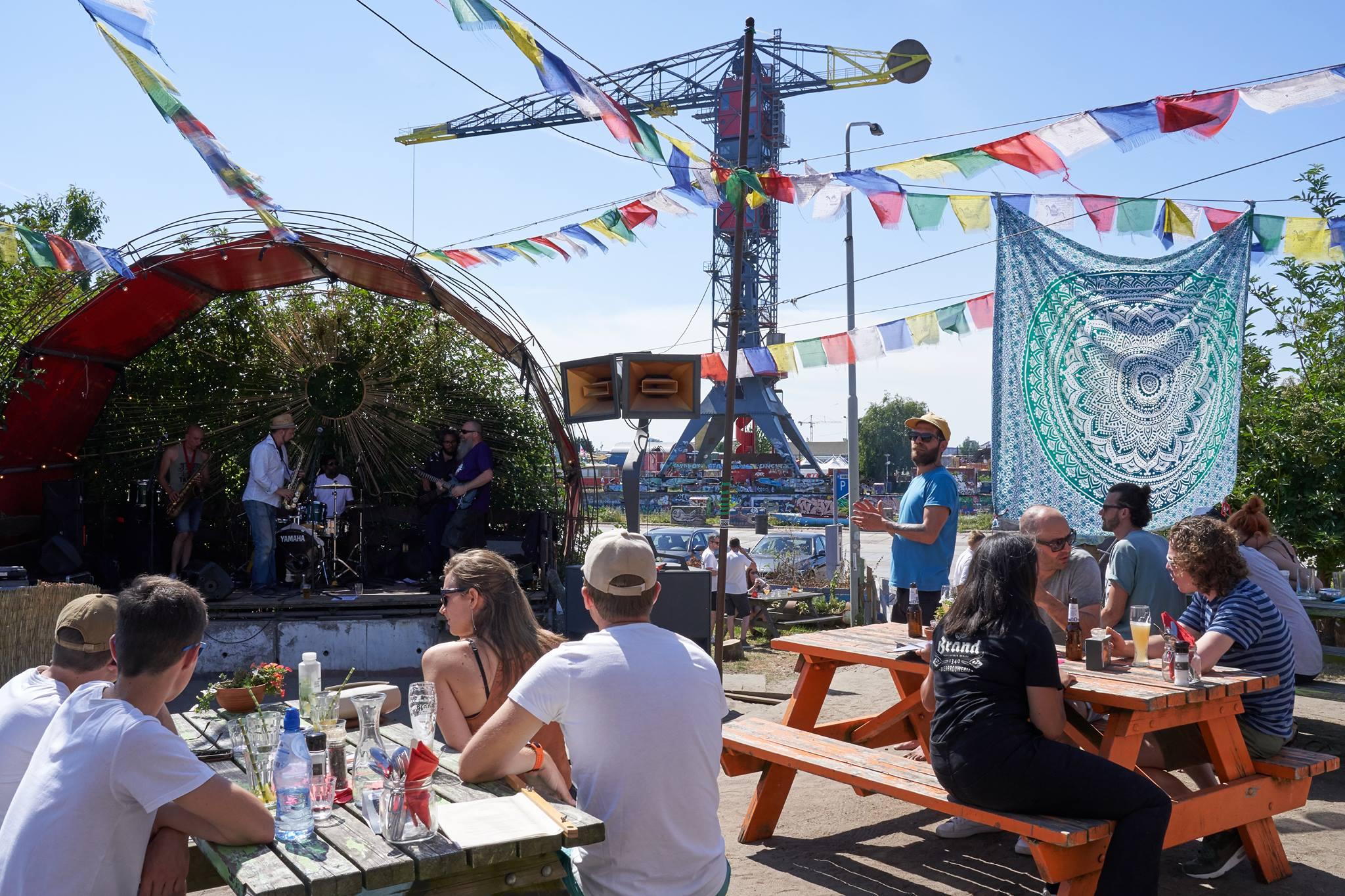 Lemon op Bevrijdingsdag Noorderlicht Café Amsterdam
