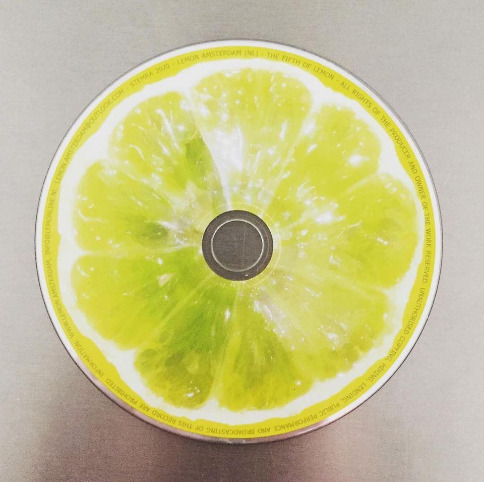 The Fifth Of Lemon CD - Amsterdam