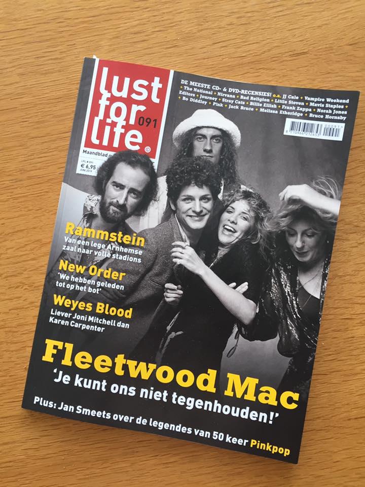 Review nieuw album in Lust For Life Magazine