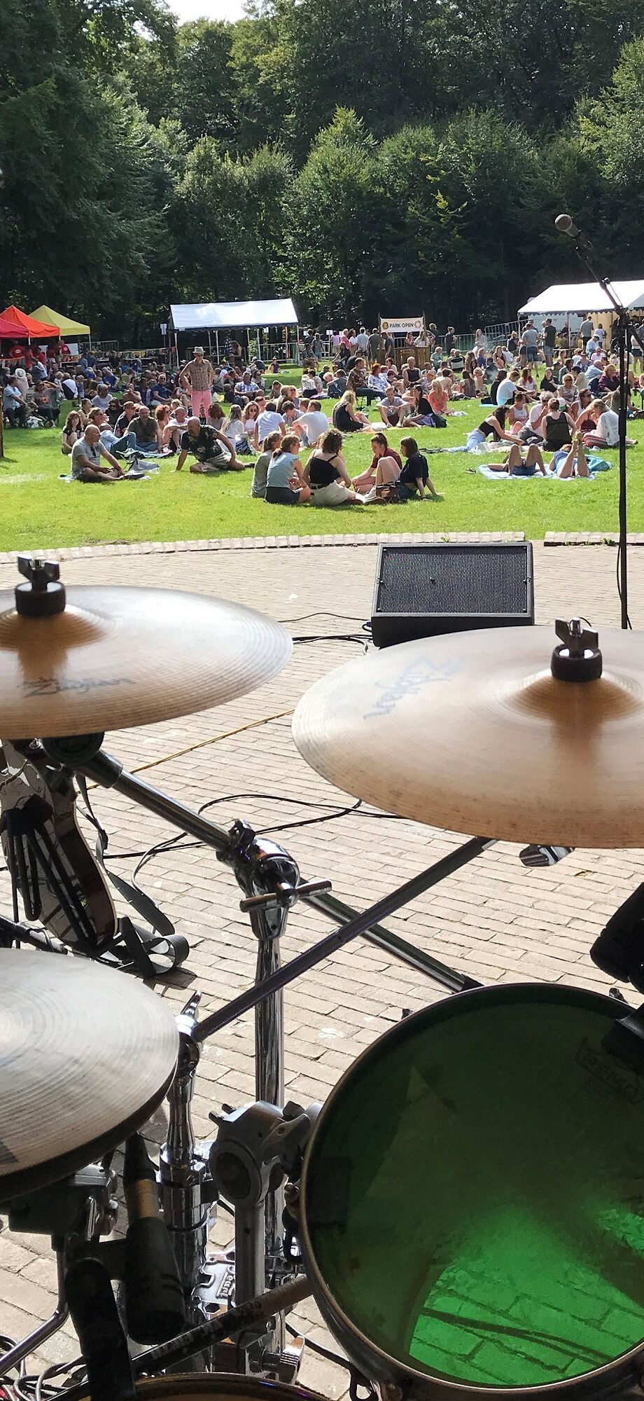 Shot from stage at Park Open Festival Arnhem