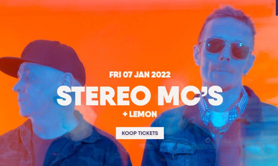 Lemon support act Stereo MC's Mezz Breda