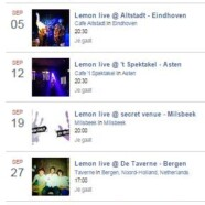 Gigs, gigs, gigs